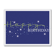 Stellar Birthday - Birthday Card
